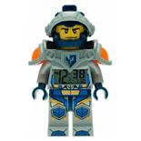 LEGO Nexo Knights Clay Väckarklocka