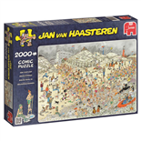 Jan van Haasteren Pussel 2000 Bitar New Year´s Dip