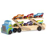 Melissa & Doug Mega Race-Car Carrier 46 cm