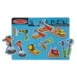 Melissa & Doug Construction Tools Sound Puzzle