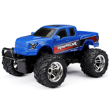 New Bright R/C Chargers Ford Raptor Blå Skala 1:18