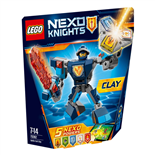 LEGO Nexo Knights Clay i Stridsutrustning