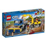 LEGO City Sopmaskin och Grävmaskin