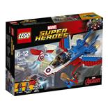 LEGO Marvel Super Heroes Captain America Jetjakt