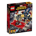 LEGO Marvel Super Heroes Detroit Steel Anfaller
