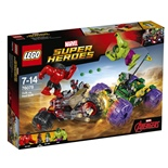 LEGO Marvel Super Heroes Hulk mot Red Hulk