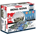 4D Cityscapes Time Puzzle Hong Kong Kina 1100 Bitar