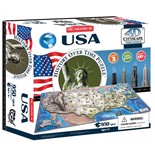 4D Cityscapes Time Puzzle USA 950 Bitar