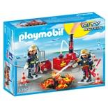 Playmobil Brandsläckning med Vattenpump
