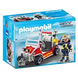 Playmobil Brandfyrhjuling