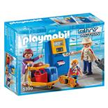 Playmobil Familj vid Incheckning