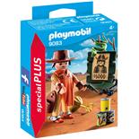 Playmobil Cowboy med Efterlyst-affisch