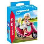 Playmobil Strandgångare med Scooter