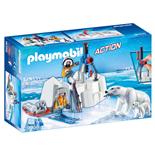Playmobil Isvaktare med Isbjörnan