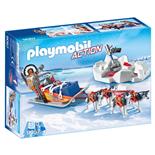 Playmobil Husky-släde