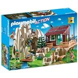 Playmobil Bergsklättrare med Koja