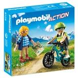 Playmobil Cyklist och Vandrare