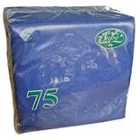 Servetter Mörkblå 75-Pack
