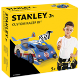 Stanley Junior Racerbil Träbyggsats