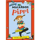 Kärnan Målarbok Pippi