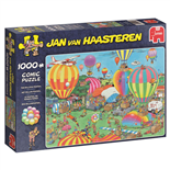 Jan van Haasteren Pussel 1000 Bitar The Balloon Festival
