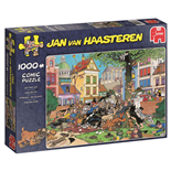 Jan van Haasteren Pussel 1000 Bitar Get that Cat!