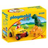 Playmobil 1-2-3 Upptäckare med Dinosaurier