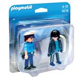 Playmobil Polis och Inbrottstjuv