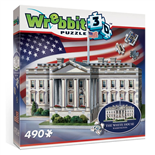 Wrebbit 3D Pussel 490 Bitar The White House