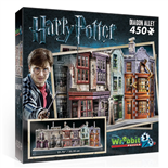 Wrebbit 3D Pussel 450 Bitar Harry Potter Diagon Alley