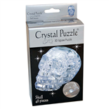 Crystal Puzzle 3D Pussel 48 Bitar Skull