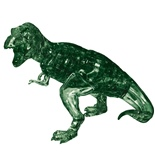 Crystal Puzzle 3D Pussel 49 Bitar T-Rex Grön