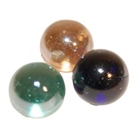 Glaskulor 3-Pack 35 mm