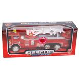 Brandbil med Friktionsmotor och Ljud & Ljus