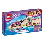 LEGO Friends Andreas Racerbåtstransport