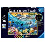Ravensburger Pussel 100 XXL Bitar Colorful Amazing Coral of