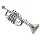 Music Trumpet Silver