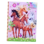 Dagbok 3D Häst