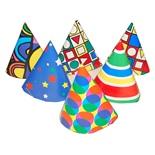 Partyhattar i Papp 6-Pack