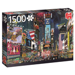 Jumbo Pussel 1500 Bitar Time Square New York