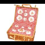 Teset i picknickkorg