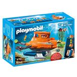 Playmobil U-Båt med Undervattensmotor