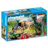 Playmobil Upptäckarfyrhjuling med T-Rex