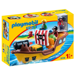 Playmobil 1-2-3 Piratskepp