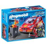 Playmobil Brandman med Bil