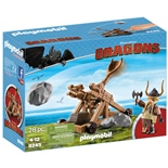 Playmobil DRAGONS Gape med Katapult