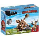 Playmobil DRAGONS Gape med Katapult