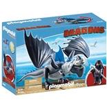 Playmobil DRAGONS Dragos med Bepansrad Drake