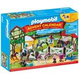 Playmobil Adventskalender Ridanläggning