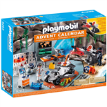 Playmobil Adventskalender Spy Team Verkstad